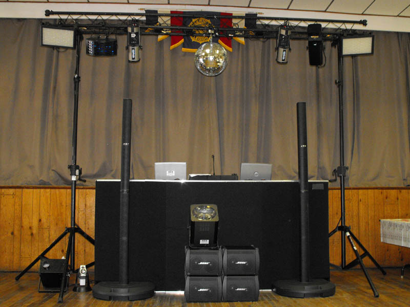shadow dj panel chauvet black package packages lights chicago blacklight duo lighting led wash light effect